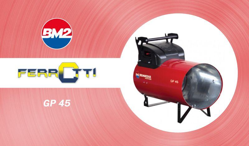 offerta generatore calore a gas gpl - occasione biemmedue gp45 - ferrotti