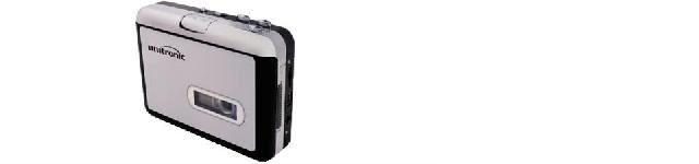 CONVERTITORE USB DA CASSETTA AUDIO A MP3