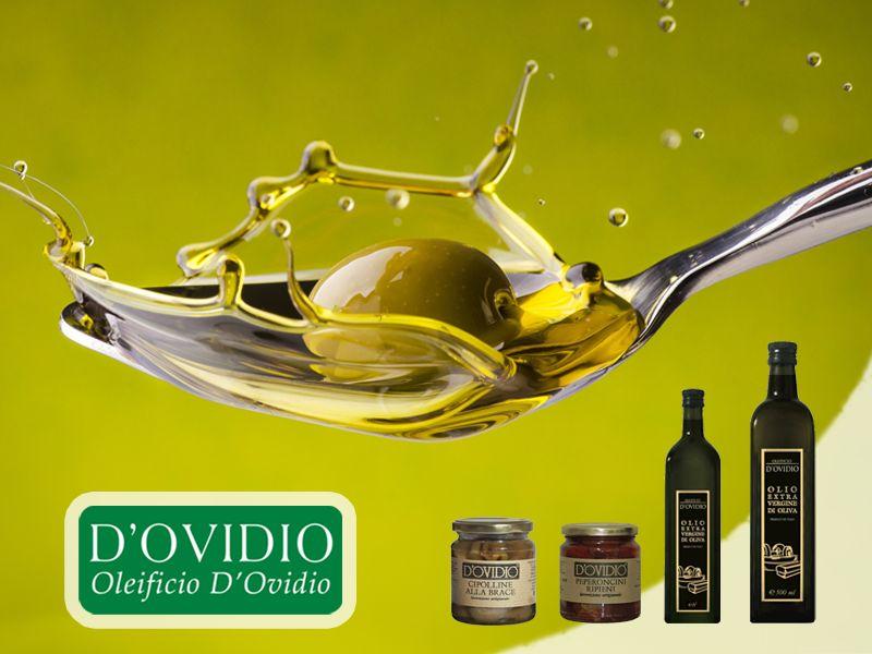 offerta olio extravergine di oliva - promozione olio italiano artigianale- oleificio d'ovidio