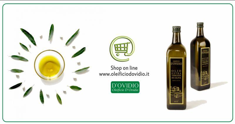 Offerta vendita on line olio extravergine oliva - occasione produzione olio italiano Brescia