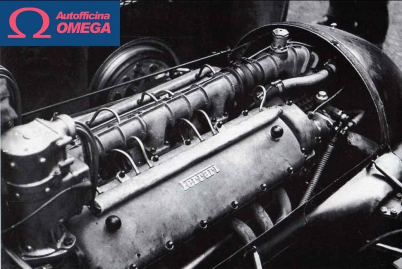 Promotion of historic car spare parts - Offer of cars original spare parts - Omega car Itay