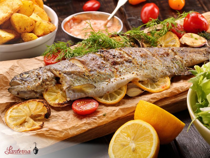 Cucina di pesce - Ristorante La Lanterna
