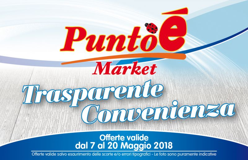 OFFERTA GENERI ALIMENTARI PASTA PANE RISO LAMEZIA TERME- PROMOZIONE SUPERMERCATO PUNTO E'
