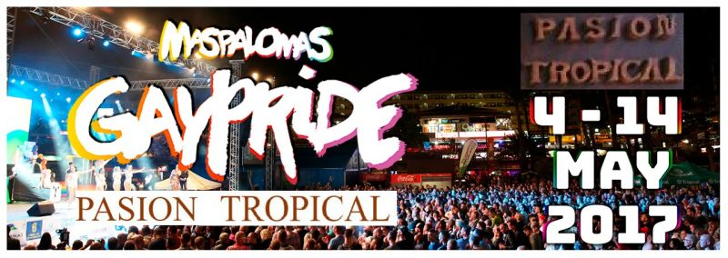 Overnight Offer Gay Pride Maspalomas 2017 - Resort occasion May 13 wagon Gay Pride Gran Canaria