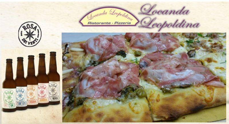 Promozione Pizza con birra a Pistoia