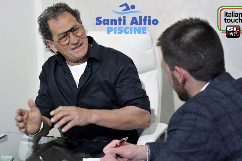 Alfio Santi has been constructing swimming pools. Experience work around the world