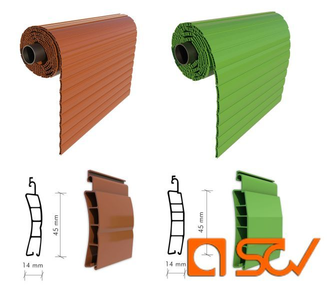 Offerta vendita avvolgibili in PVC per cassonetti - Promozione serramenti in PVC - SCV S.N.C.