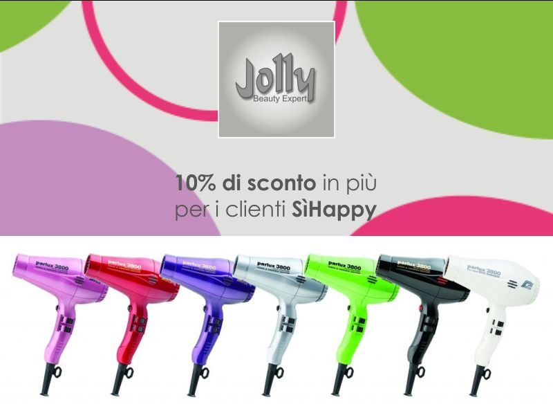 offerta asciugacapelli professionale-promozione phon parlux 3000 milano-jolly Beauty expert