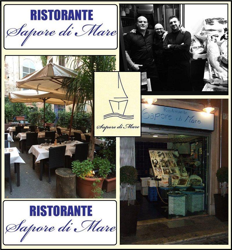 RISTORANTE SAPORE DI MARE offerta pranzo cena specialità pesce di mare vicino al Pantheon ROMA