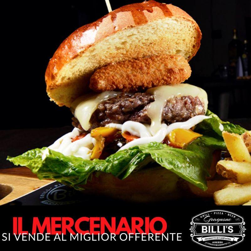 Billi's Gragnone - hamburger arezzo - il mercenario