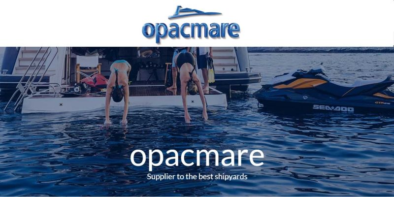 Offre composants navals yacht made in Italy- Occasion accessoires acier inoxydable aluminium