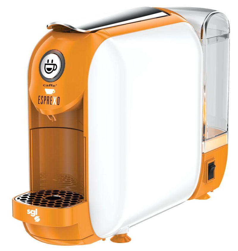 Macchina da caffè a capsule e bevande calde ginseng