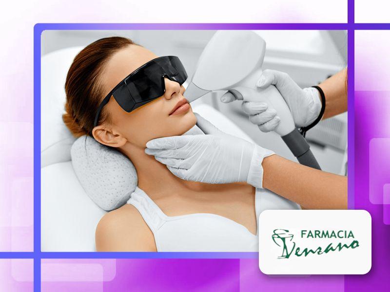 offerta epilazione permanente laser famacia - promozione trattamento laser farmacia venzano