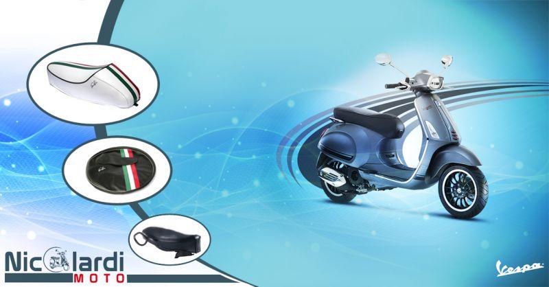 Offerta vendita e distribuzione selle cuscini e accessori Vespa a Lecce - Nicolardi Moto