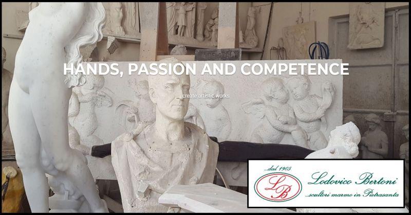 BERTONI LODOVICO & FIGLI - Sale opportunity for handmade marble statues made in italy