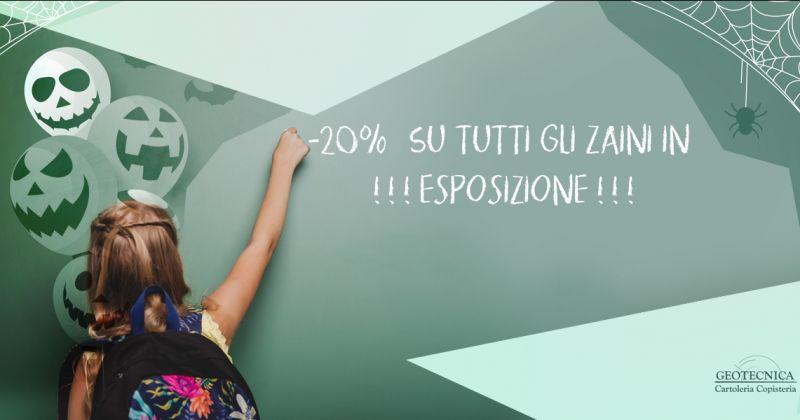 Vendita zaini scuola per ragazzi Trepuzzi - Cartoleria Geotecnica