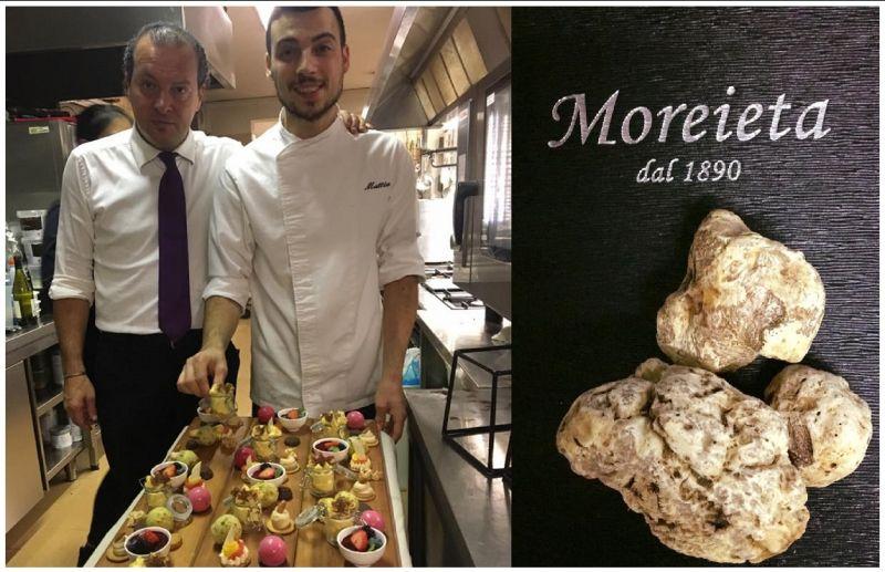 offerta risotto al Tartufo nero - occasione Trattoria Ristorante Cucina casalinga Vicenza