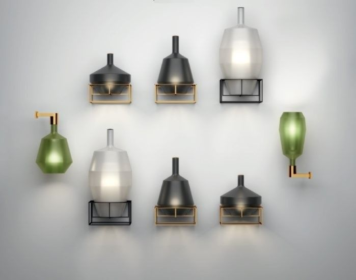 MoM Penta Applique - Lampada in vetro Borosilicato