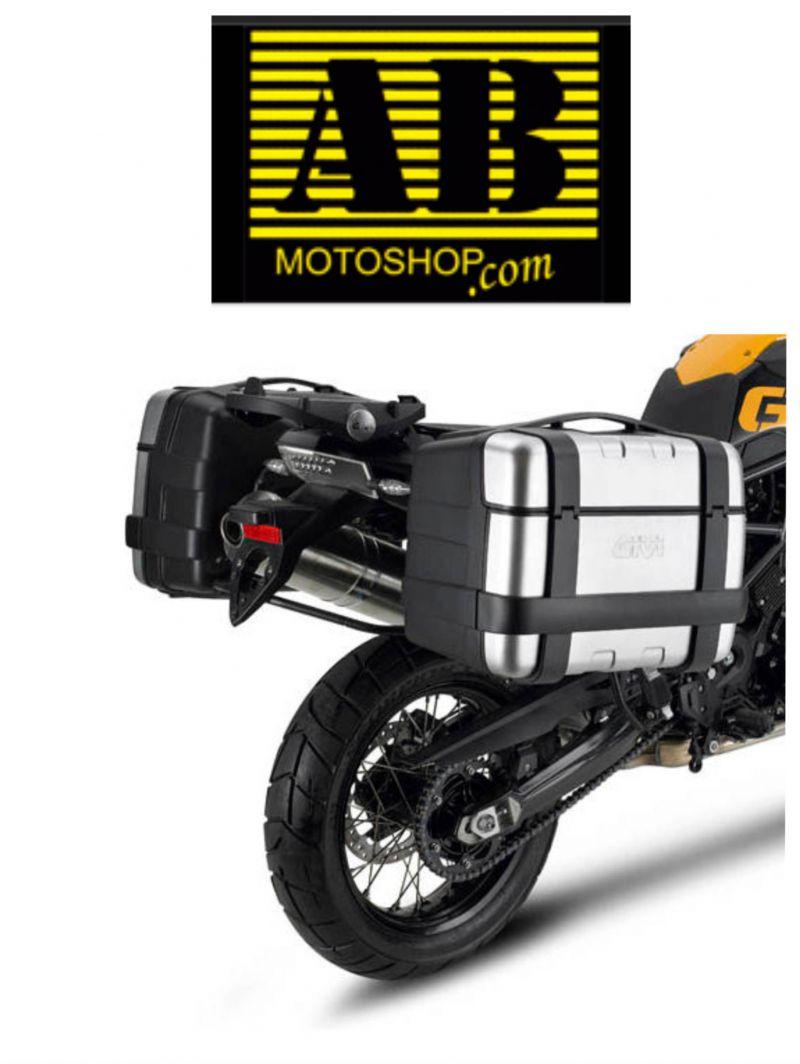 offerta vendita portavaligie laterali givi per moto - occasione portavaligie per moto