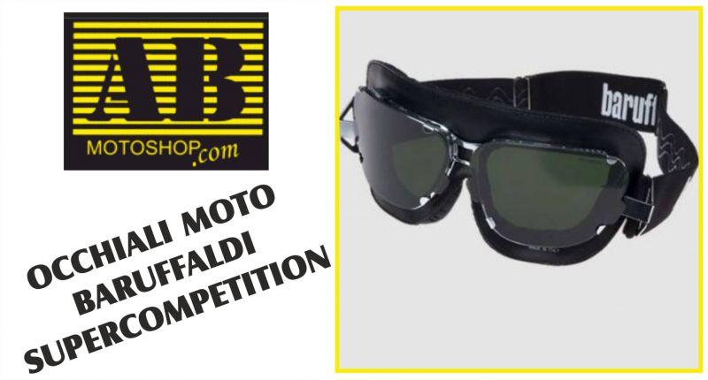 offerta occhiali per moto baruffaldi supercompetition a macerata