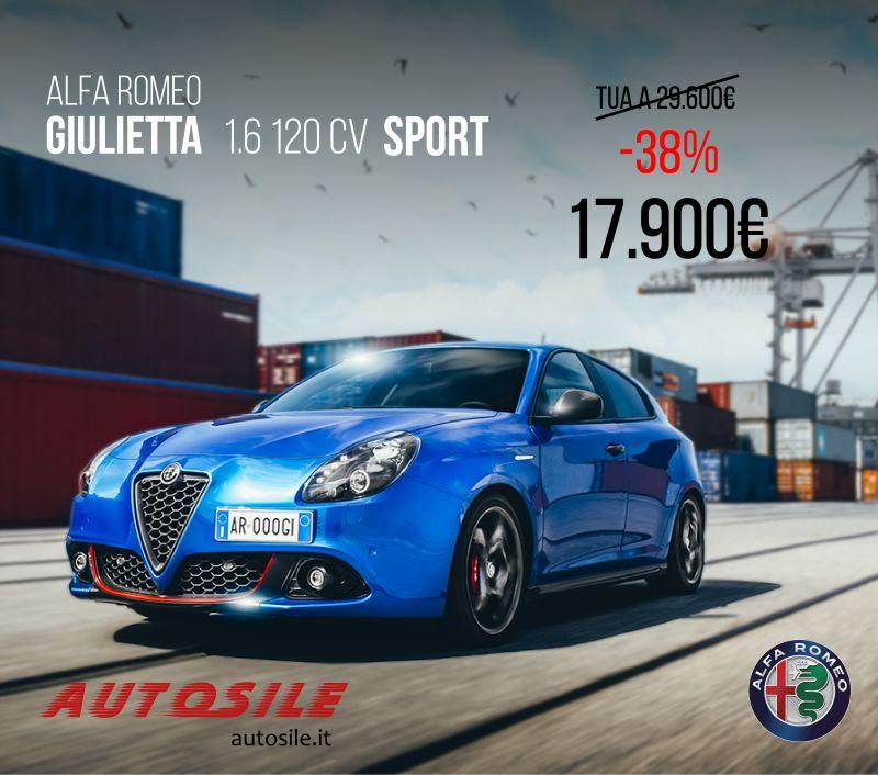 ALFA ROMEO GIULIETTA 1.6 120CV SPORT 17.900?