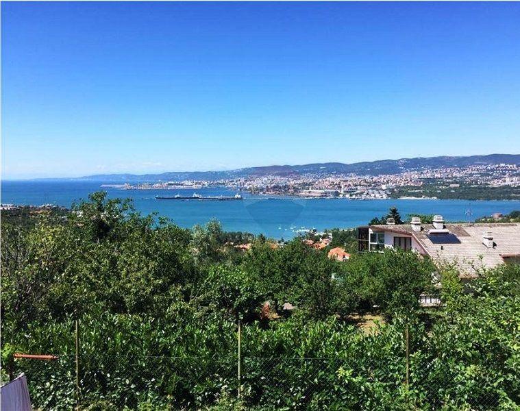 offerta vendita villa vista mare trieste - occasione vendita villa singola sul golfo di trieste