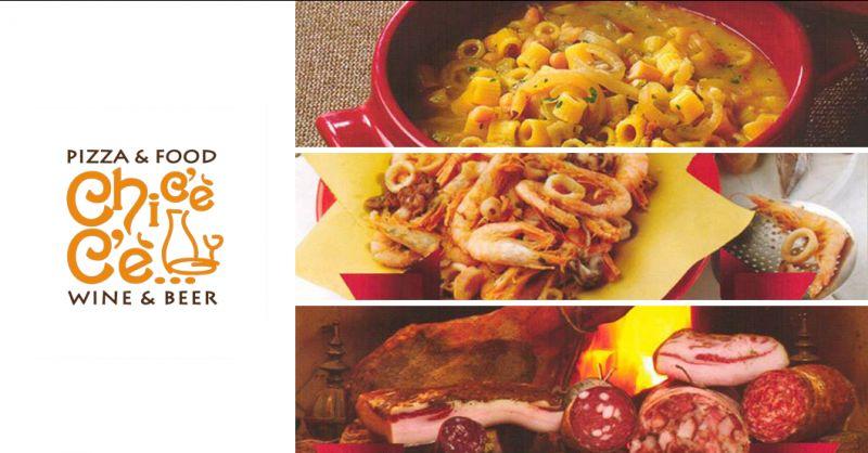 offerta ristorante a collepepe menu pesce  - promozione menu collepepe cinta senese