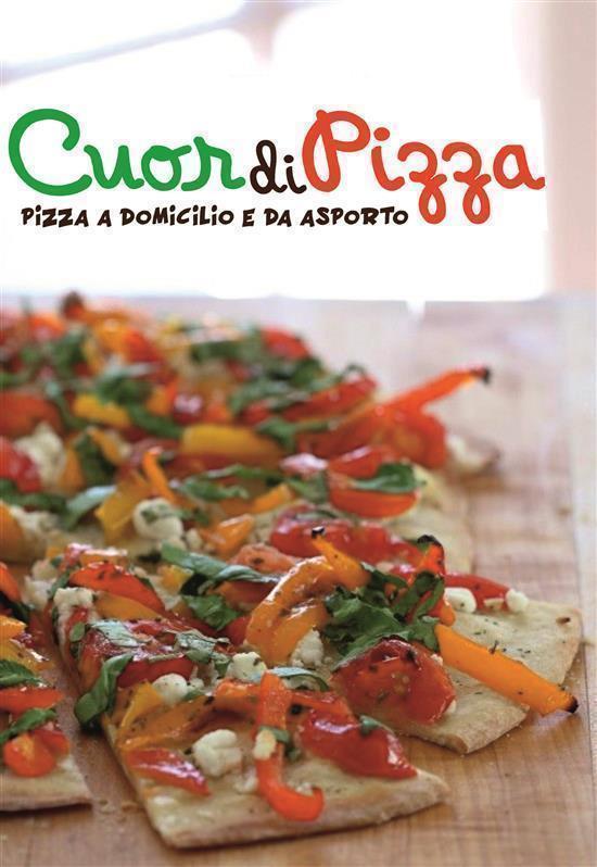 Pizza, focacce, insalate, panzerotti tanto gusto e ingredienti buonissimi anche a casa tua!