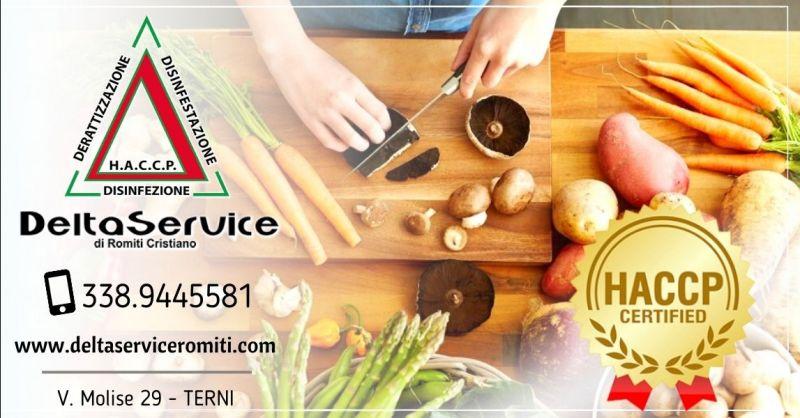 Offerta servizio consulenza e corsi Haccp Terni - Occasione corso sicurezza alimentare Haccp Terni e provincia