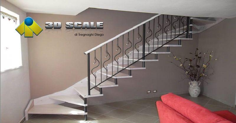 3D SCALE offerta produzione ringhiere per scale - occasione realizzazione soppalchi e balaustre