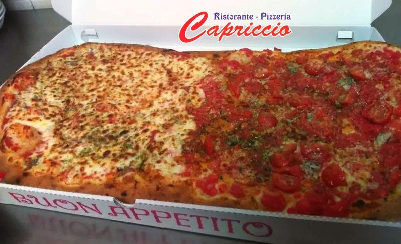 PIZZERIA CAPRICCIO offerta pizza al metro valderice - promozione pizze familiari d'asporto