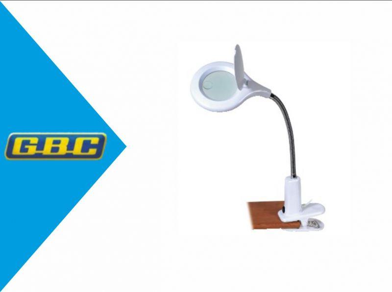 LAMPADA CON LENTE 3 DIOTTRIE + EXTRA 12 E CLIP DI AGGANCIO