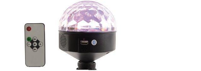EFFETTO SPECIALE MAGIC BALL LED MULTICOLOR ATTACCO E27