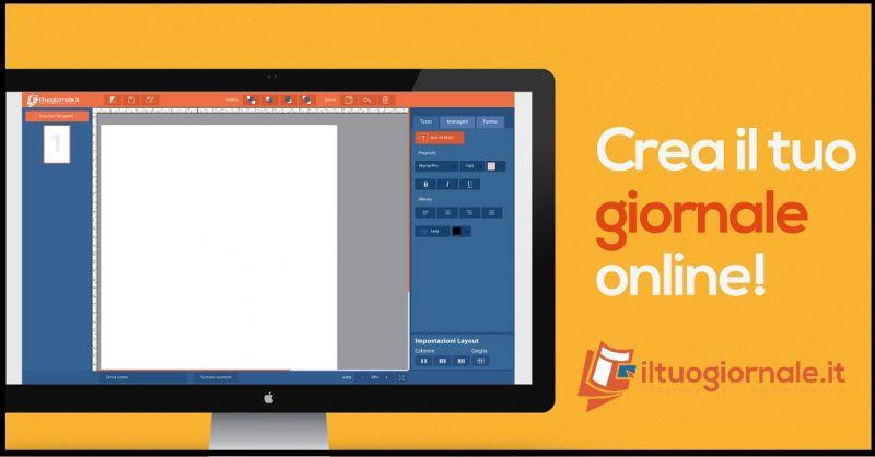 ILTUOGIORNALE.IT Offerta creare prima pagina giornale - Promozione creazione online giornale