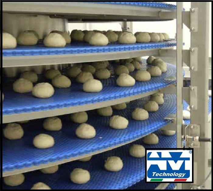 Deals offers installation conveyor belts  spirals leavening cells cooling deep-freezing