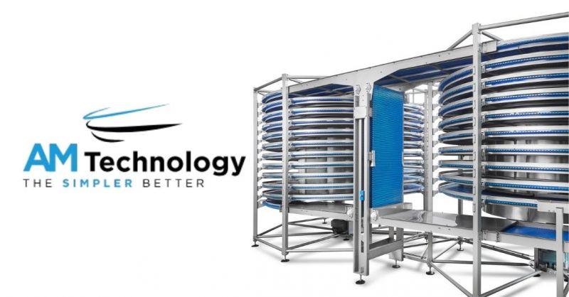 Deals offers installation conveyor belts, spirals, leavening cells, cooling, deep-freezing