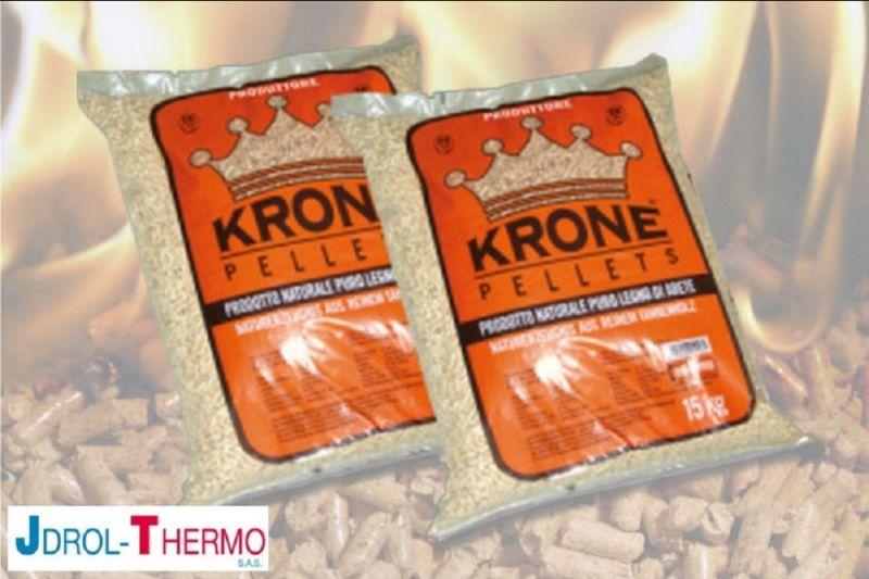 promozione vendita pellet Camaiore - offerta pellet krone lucca