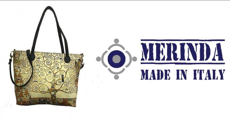 MERINDA - Anlass online kunsttasche Frauentaschen hergestellt Italien produktion Kunstrucksack