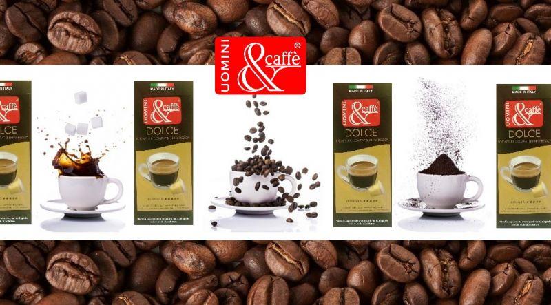 UOMINIECAFFESHOP Offerta vendita online CAPSULE CAFFE' COMPATIBILI NESPRESSO DOLCE