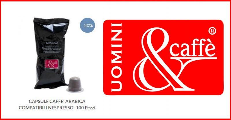 Uomini & Caffè capsule caffè compatibili - Offerta online capsule caffè compatibili vicenza