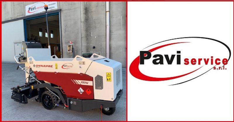PAVISERVICE SRL - Offerta noleggio per la regione veneto di piccola vibrofinitrice Dynapac F80W