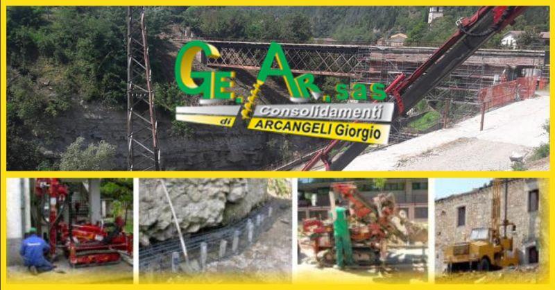 GE.AR. SAS offerta costipamento di terreni per lavori pubblici Terni