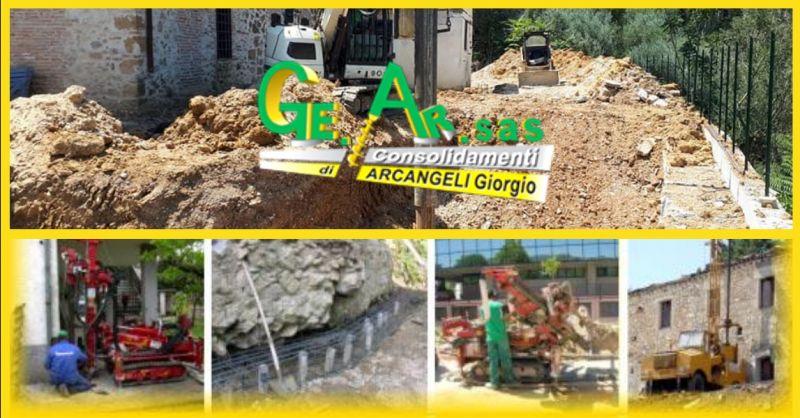 offerta consolidamento terreni instabili - occasione interventi di drenaggio terreni Terni