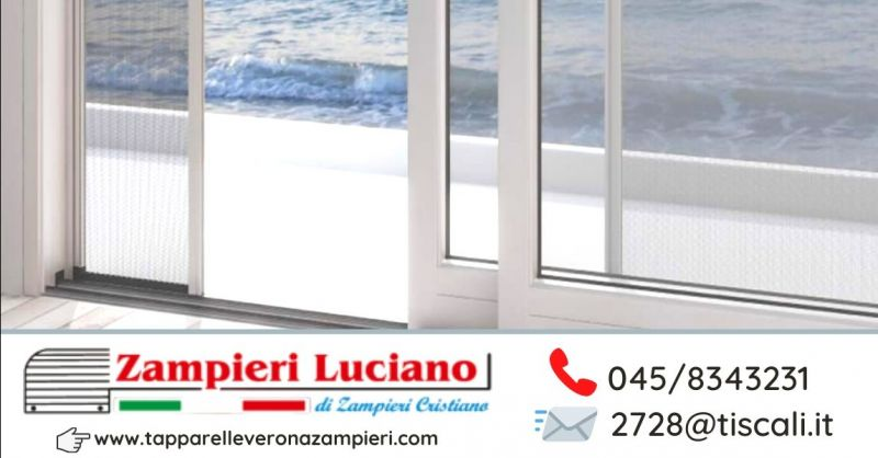 Offerta installazione zanzariere inferriate su misura Verona - Occasione vendita cancelletti di sicurezza