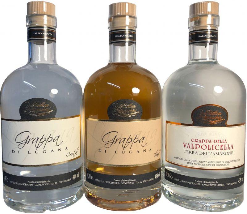 offerta Grappa Lugana Valpolicella Barrique - occasione vendita Distillati Artigianali