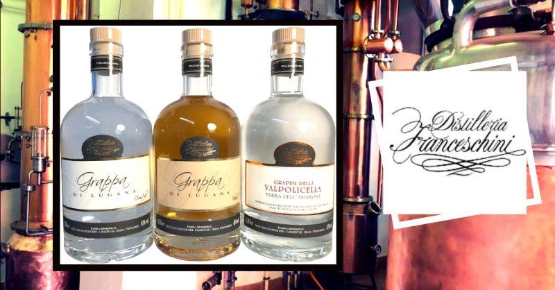 offerta vendita grappa della Valpolicella - occasione distilleria artigianale a Verona