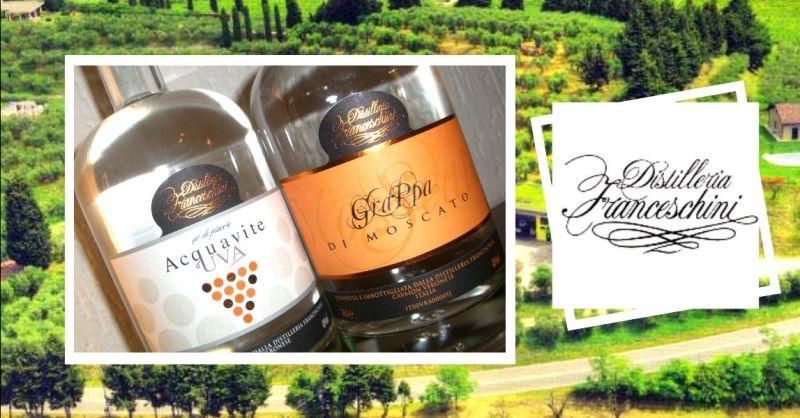DISTILLERIA FRANCESCHINI offerta acquavite d'uva produzione artigianale
