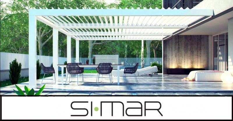 SIMAR - offerta vendita ed installazione pergole bioclimatiche Verona