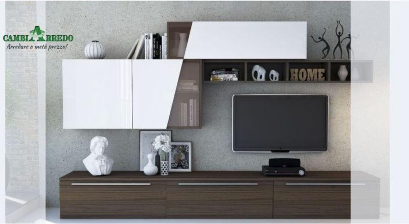 offerta vendita soggiorno moderno Cadeo  - promozione arredamento zona giorno