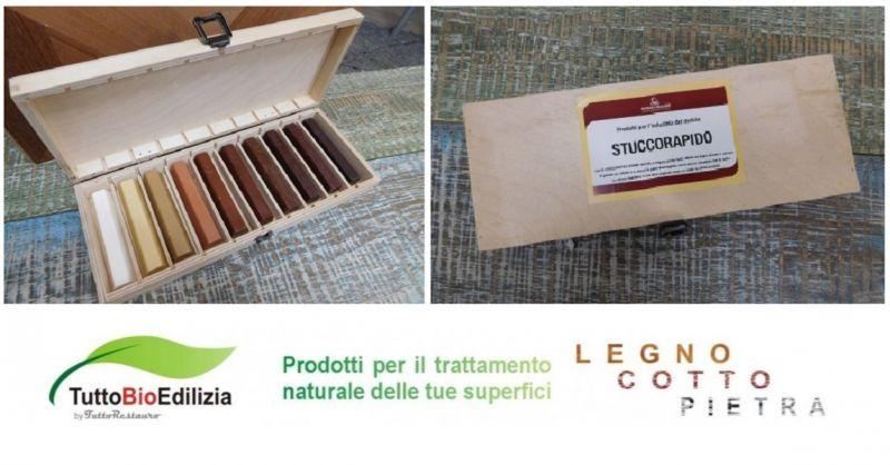 SHOP.TUTTORESTAURO.IT - Offerta vendita online STICK CERA STUCCO per legno laccato verniciato